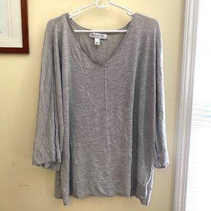 Pure Energy 3/4 Sleeve Lightweight Sweater 3x